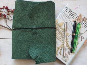 バッファロー A5サイズのカバー 自然な切り口 トラベラーズノートタイプの画像