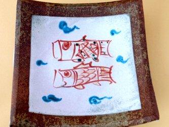 鯉のぼり陶板Bの画像