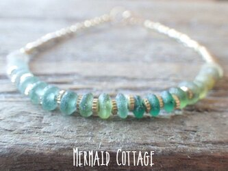 *14kgf*Sea Roman Sea Roman Glass Braceletの画像