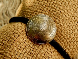 #H170 Vietnam Coin Hair Elastic(Classic ver)の画像
