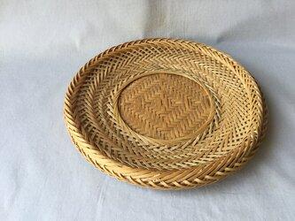 盛りかご(皿型23cm)の画像