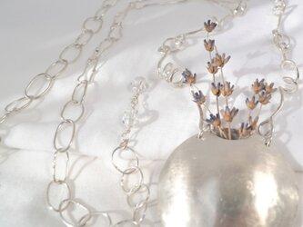 銀のポケットネックレス -138-の画像