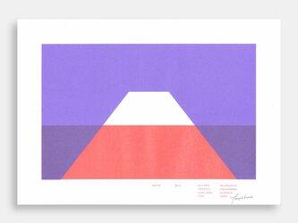 Art Print (Riso) / Risoscape 富士山#5の画像