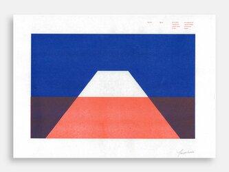 Art Print (Riso) / Risoscape 富士山#1の画像