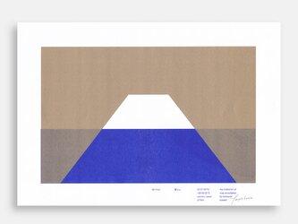 Art Print (Riso) / Risoscape 富士山#4の画像
