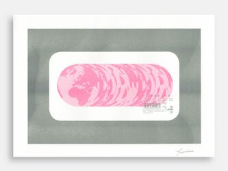 Art Print (Riso) / Ham of the Planet #1の画像