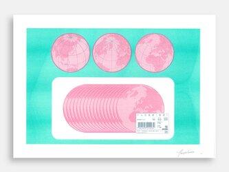 Art Print (Riso) / Ham of the Planet #7の画像