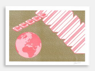 Art Print (Riso) / Ham of the Planet #9の画像