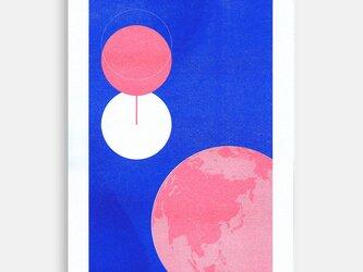 Art Print (Riso) / Ham of the Planet #11の画像