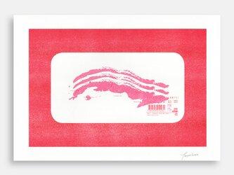 Art Print (Riso) / Meat Map Market #3 Cuba Porkchopの画像