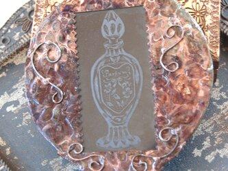 アンティーク風手鏡(香水)の画像