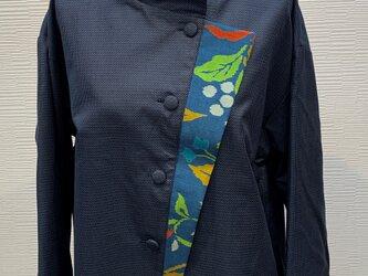 ジャケット(着物リメイク)(男大島)の画像