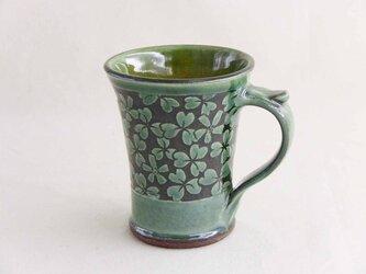 カタバミのマグカップ(織部)の画像