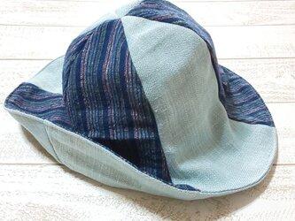 甘織帽子の画像