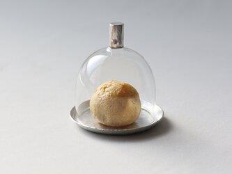 ミニミニガラスドーム [ 錫銀 ]の画像