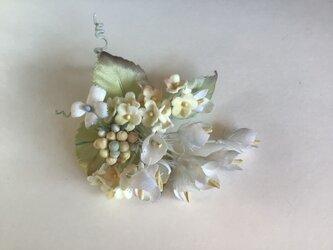 白いスズランの画像
