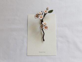 【ブローチ】桜~春を呼ぶ花~の画像