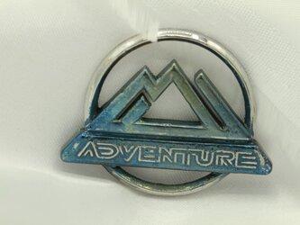 RAV4adventureキーホルダー高級希少金属コバルト製の画像