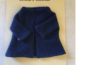 sokko's Coat  紺色のニットコートの画像