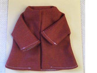 sokko's Coat  レンガ色コートの画像