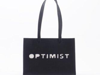 PartyBag for Optimist(黒)/牛革/PB001の画像