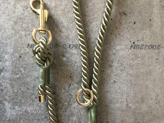 Twist Rope DogLeash,AvocadoGreen(犬用リード ツイストロープ,アボカドグリーン)の画像
