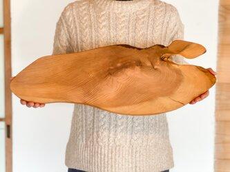 木のお皿、大きなカッティングボード(エクストラロング)の画像