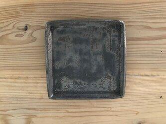 角平皿 鉄錆の画像