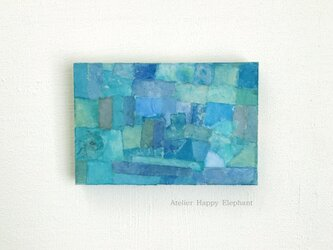 青の迷路の画像
