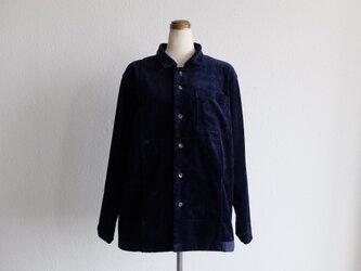 【シーズン限定】木間服装製作 / shirt コーデュロイ navy / unisexの画像
