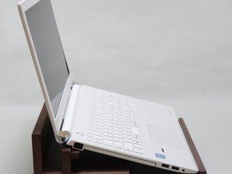 ⭕新作⭕ ウォルナット ノートパソコンスタンド A  <JDA5> 【受注制作】の画像