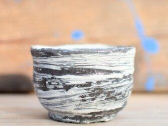 Sake cup Large brush marks 4の画像