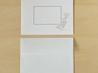 オリジナル封筒 ホワイトの画像