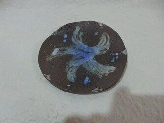 陶器 花模様 小皿①、~⑤ 刷毛目の画像