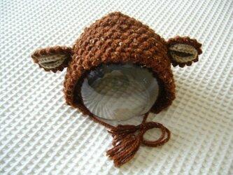 アニマル・ボンネット(茶羊)の画像