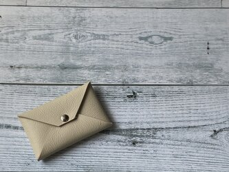 ✉L.A.Nが作ったCCB leather case ✉【牛革  オイスターホワイト系】の画像