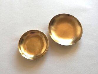 真鍮豆皿 2枚セットの画像