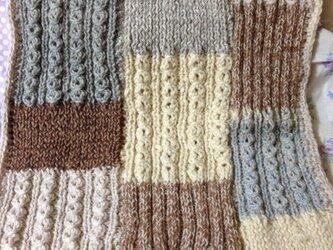 毛糸のマットの画像