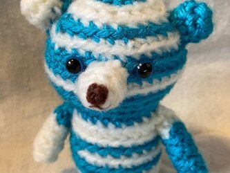 クマさん青系2の画像