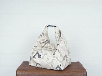 buckle bag / アイボリー×yamaの画像