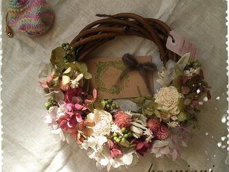 natural wreath Ⅲの画像