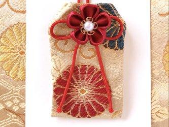 (赤菊紋)元巫女が作るお守り袋の画像