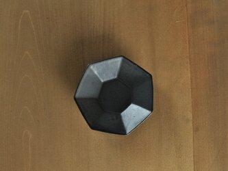 七角小皿/チャコールの画像