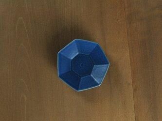 七角小皿/青の画像