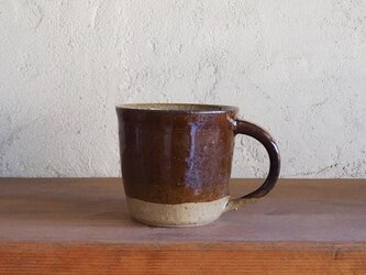 mug cup L・brownの画像