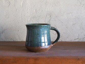 mug cup(弓形)L・greenの画像