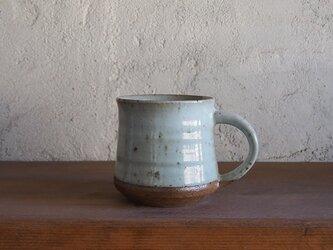 mug cup(弓形)L・whiteの画像