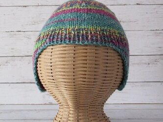 手編み帽子 幼児用 Opal Little Secrets 9585 48cmの画像