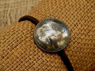 #H171  NewZealand Coin Hair Elasticの画像