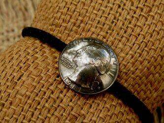 #H49 USA Coin Hair Elasticの画像